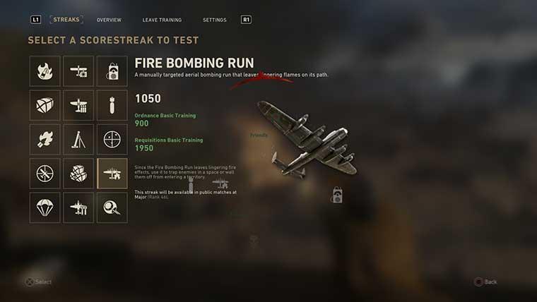 Call of Duty WWII Scorestreaks