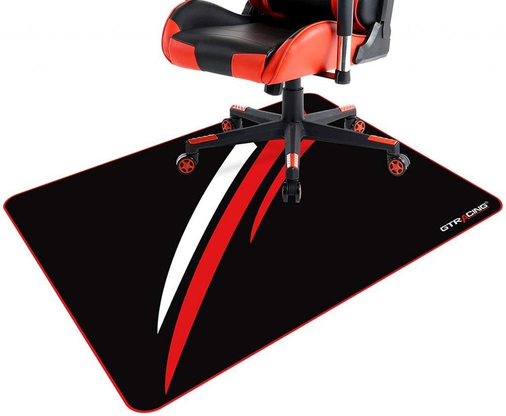 Gtracing Gaming Chair Mat for Hardwood Floors