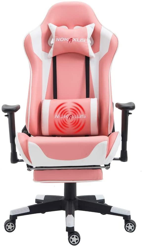 Nokaxus Gaming Chair in Pink